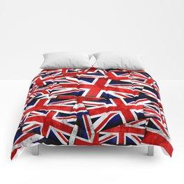 Union Jack British England UK Flag Comforters