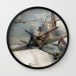 Supermarine Spitfire Wall Clock
