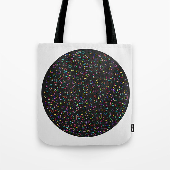 Universe inside a Circle Tote Bag