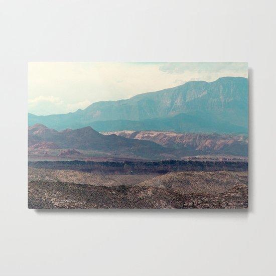Slingshot Slate (Zion National Park, Utah) Metal Print
