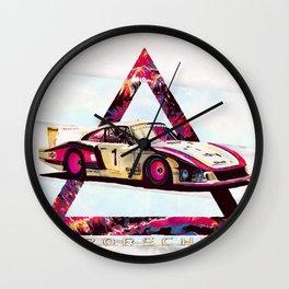 "Porsche 935/78 ""Moby Dick"" // Le Mans Race Cars Wall Clock"