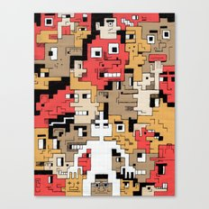 Byte Little Canvas Print