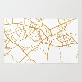 KIEV UKRAINE CITY STREET MAP ART Rug