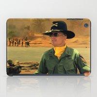 apocalypse now iPad Cases featuring Robert Duvall @ Apocalypse Now by Gabriel T Toro