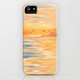 Abendmelodie iPhone Case