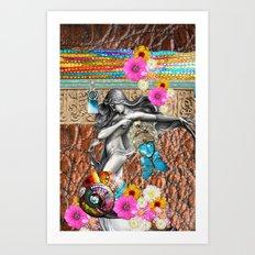 BoHo Bling Art Print