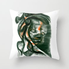 Samurai 3 Throw Pillow