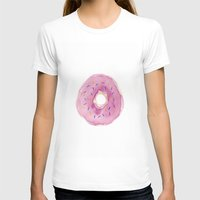 donut T-shirts featuring Donut by Janelle Adamson