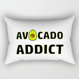 Avocado Addict Art Work Vegan | Gift Idea Rectangular Pillow