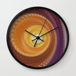 The Warm Zone - Fractal Art  Wall Clock