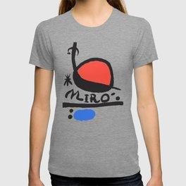 Joan Miró - L oiseau Solaire 1983 - Artwork for Prints Posters Tshirts Bags Women Men Kids T-shirt