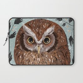 Painted Owl Laptop Sleeve