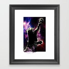 cosmic tiger Framed Art Print