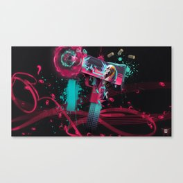 SMG 3 Canvas Print