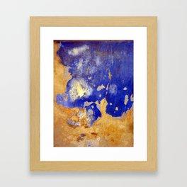 Blue Ruin Framed Art Print