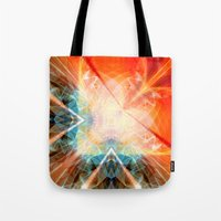 angel Tote Bags featuring Angel by Christine baessler