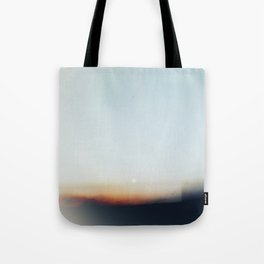 Abstract Desert Moonscape Tote Bag