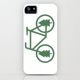 Pacific Northwest Cycling - Bike, Bicycle, Portland, PDX, Seattle, Washington, Oregon, Portlandia iPhone Case