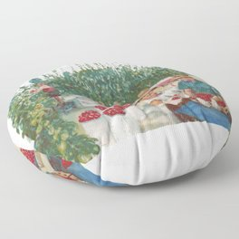 Tomato Growers,Australia             by Kay Lipton Floor Pillow