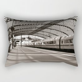 Train-Station of Berlin Rectangular Pillow