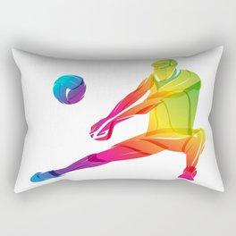 Volleyball player Rectangular Pillow