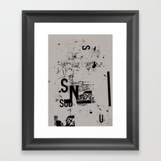 spotless 2 Framed Art Print