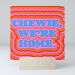"""""""Chewie, We're Home - Han Solo"""" by Tyler Spangler Mini Art Print"""