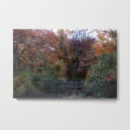 Autumn Scenery Metal Print