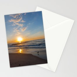 the start of the day Stationery Cards