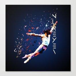 Fanfare for Nureyev Canvas Print
