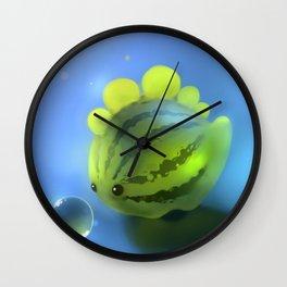 Watermelon Dino Wall Clock
