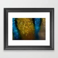 Light Drips II Framed Art Print