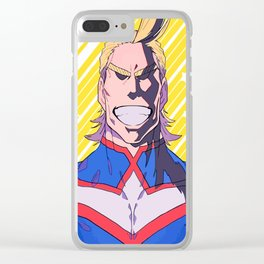 Smiling All Might Clear iPhone Case