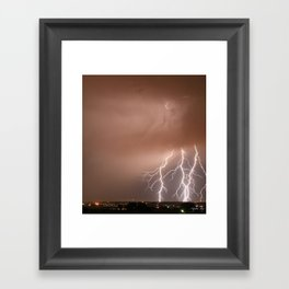Electrified Framed Art Print
