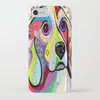 beagle iPhone & iPod Cases featuring BEAGLE by EloiseArt