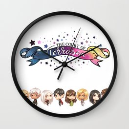 The Court of Terrasen Wall Clock