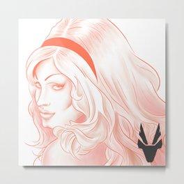 My Red Queen! Jinkx Monsoon Metal Print