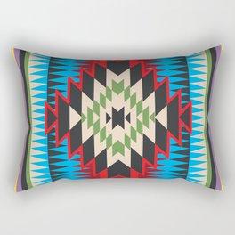 Navajo Pattern Five Rectangular Pillow