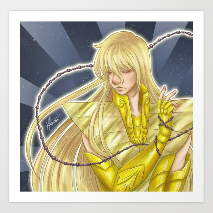 Shaka , Virgo Art Print by karinapardini