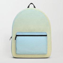 MIRAGE - Minimal Plain Soft Mood Color Blend Prints Backpack