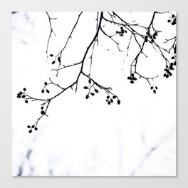 Winter Silhouettes 4 Canvas Print