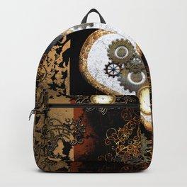 Steampunk, beautiful heart Backpack