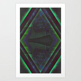 Diamond Gateway Art Print