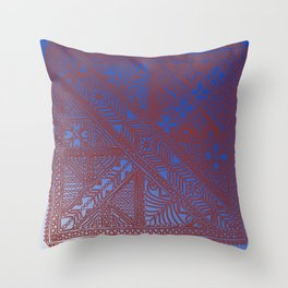 Trip to Morocco, direct to Marrakesh Throw Pillow