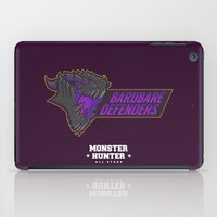 monster hunter iPad Cases featuring Monster Hunter All Stars - BD by Bleached ink