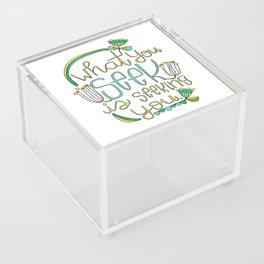 Seeking Acrylic Box