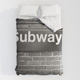 Subway Comforters