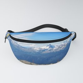 Alpine mountain view, Canada Fanny Pack