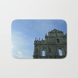 Macau's Ruins of St Paul's  Bath Mat