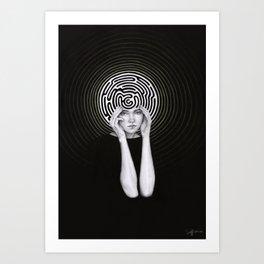 Mauna Art Print